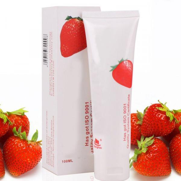 Glidecreme Med Jordbær Smag